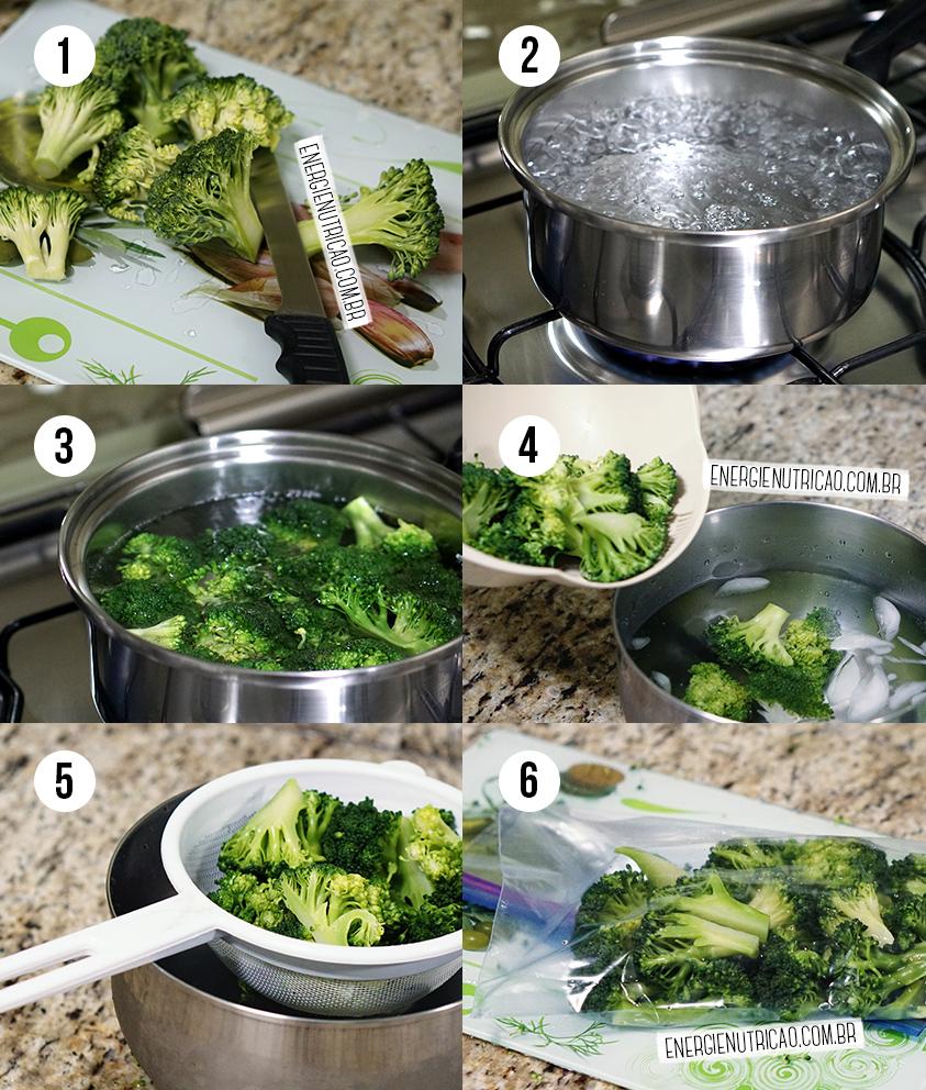 Como congelar legumes e verduras para não perder os nutrientes - Como branquear vegetais