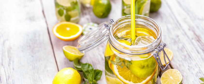 Água Aromatizada de Limão Siciliano