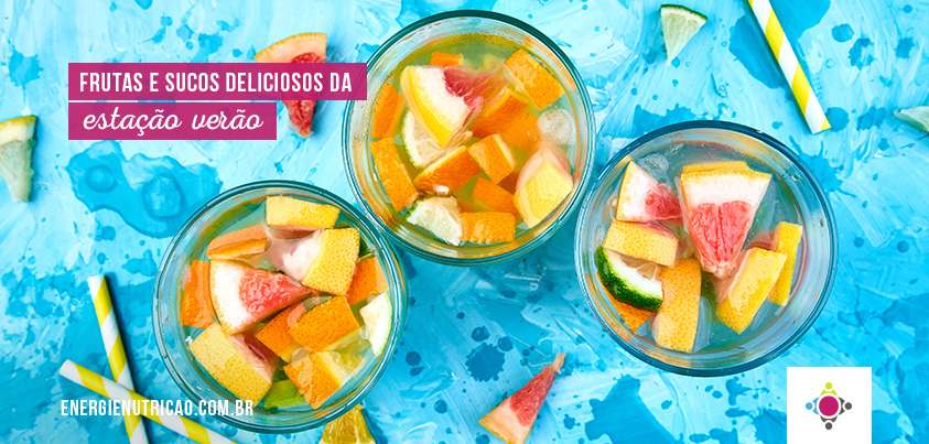 frutas da estação verão