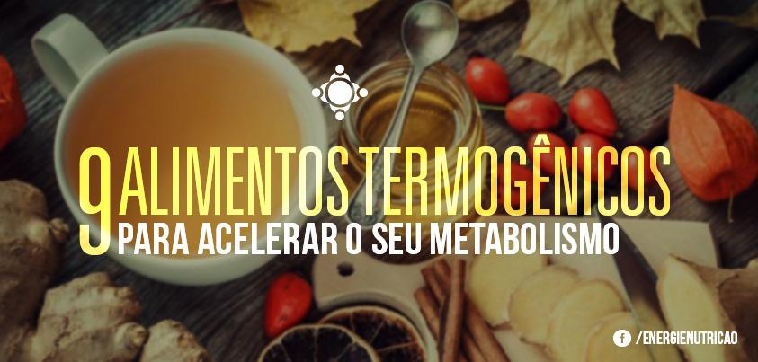 alimentos termogênicos