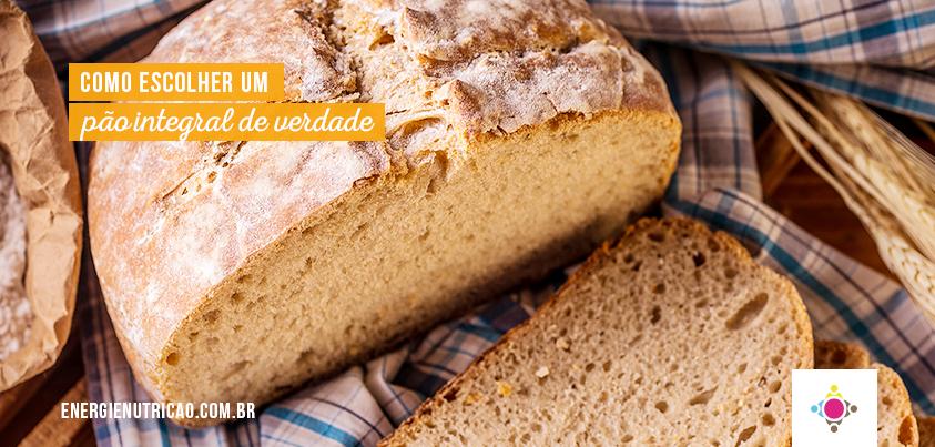 pão integral de verdade