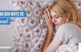 hábitos alimentares sono