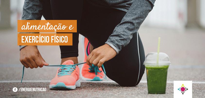 alimentação e exercícios físicos