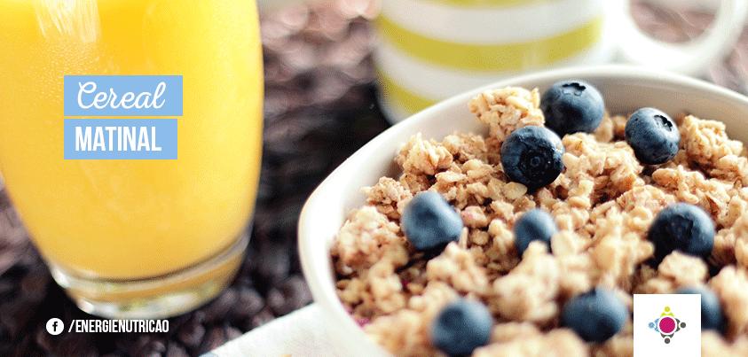 cereal matinal saudável