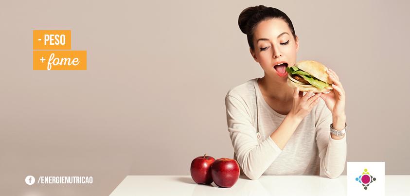 perda de peso pode aumentar o apetite