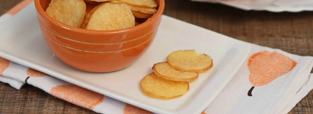 lanches low carb - lascas de provolone