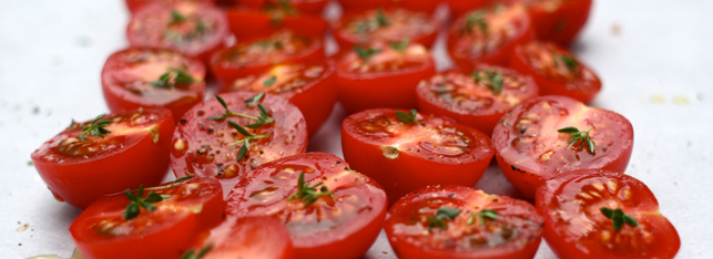 lanches low carb - tomate cereja