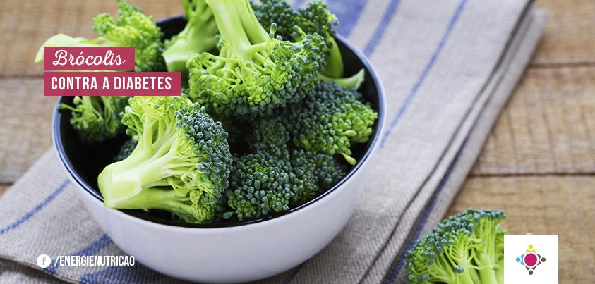 diabetes alimentação brócolis