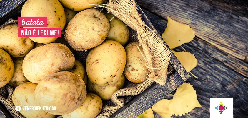 Batata é legume ou verdura