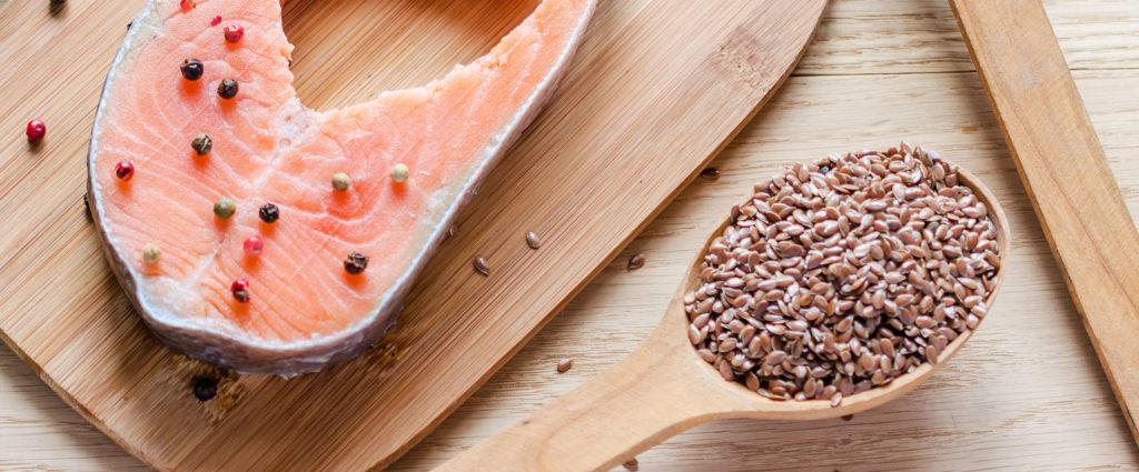 fontes de ácidos graxos - endometriose alimentação