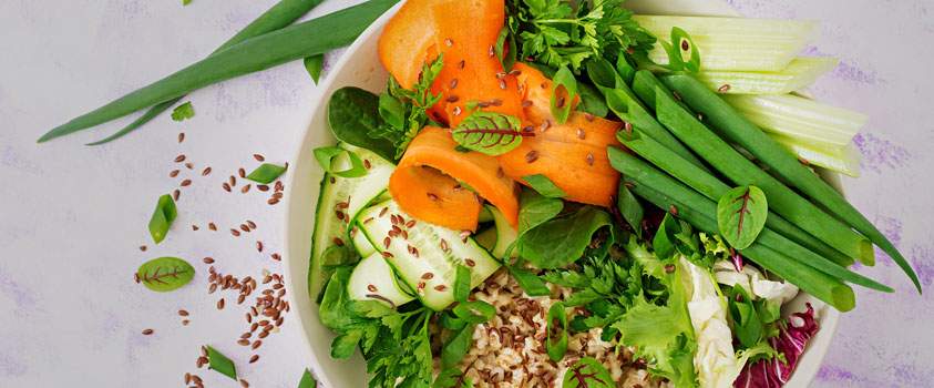 fontes de fibras - endometriose alimentação