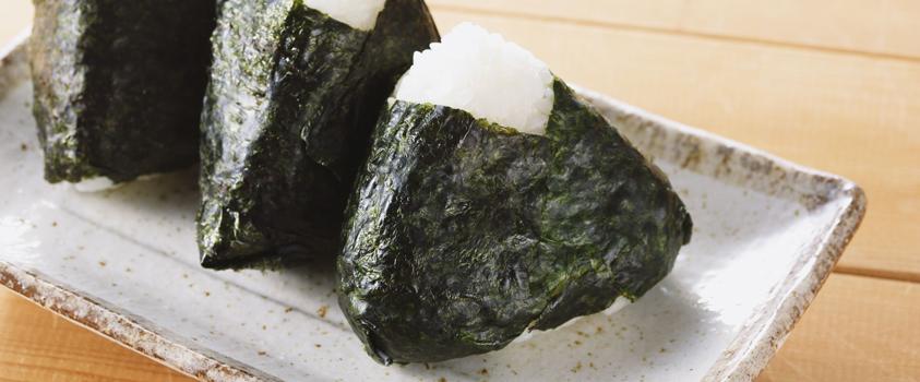 como incluir a comida japonesa na dieta - Oniguiri