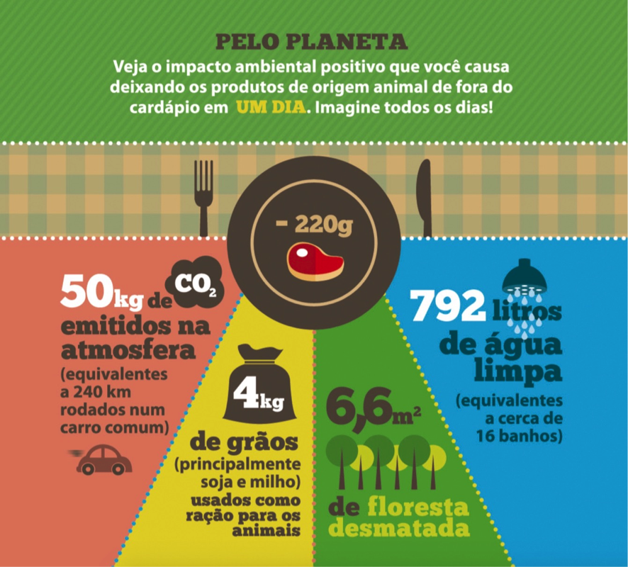 segunda sem carne - Mas adianta não comer carne por um dia só na semana? Impacto ambiental positivo no planeta