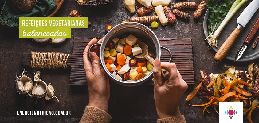 9 ideias de refeições vegetarianas balanceadas nutricionalmente