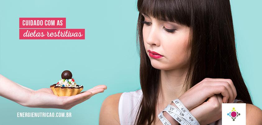 Começou uma dieta para emagrecer rápido? Cuidado com as dietas restritivas!