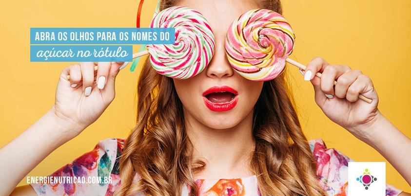 Abra os olhos para os 19 nomes disfarçados do açúcar no rótulo