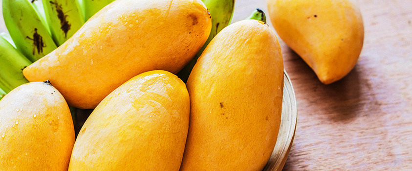 Como escolher frutas deliciosas e docinhas: como escolher manga