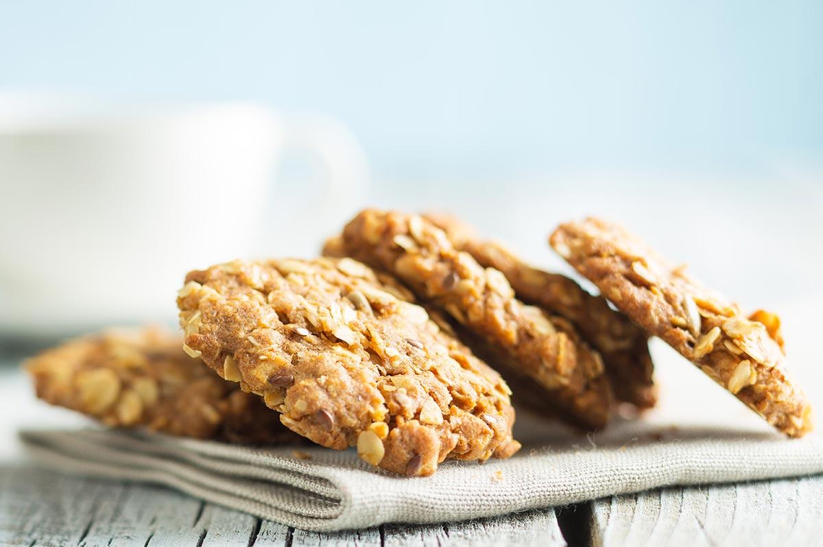 Cookies de Aveia, Banana e Canela - receitas para cozinhar com os filhos