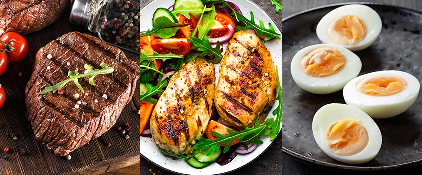 alimentos low carb lista - carnes