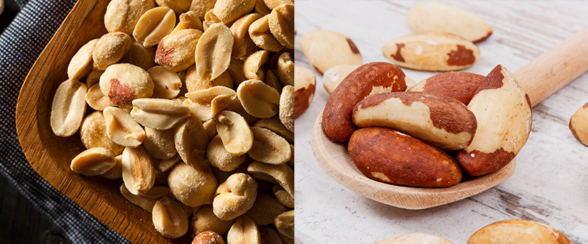 alimentos low carb lista - oleaginosas