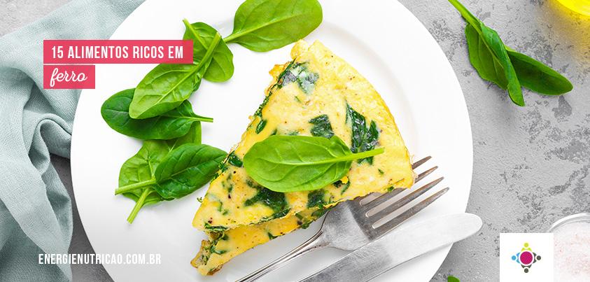 15 alimentos ricos em ferro para você incluir no seu dia-a-dia