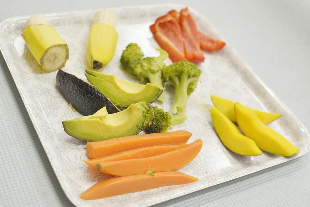 Conheça o Método BLW de Introdução alimentar Participativa para seu bebê - Cortes dos alimentos