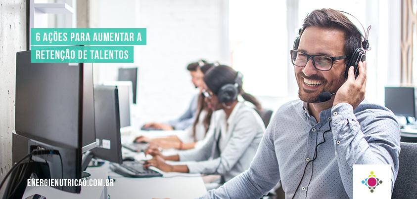 Retenção de talentos nas empresas é um dos benefícios dos programa de qualidade de vida no trabalho