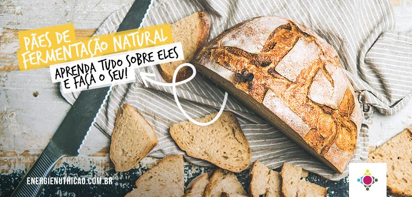 Pães de fermentação natural: Aprenda TUDO sobre eles e faça o seu!